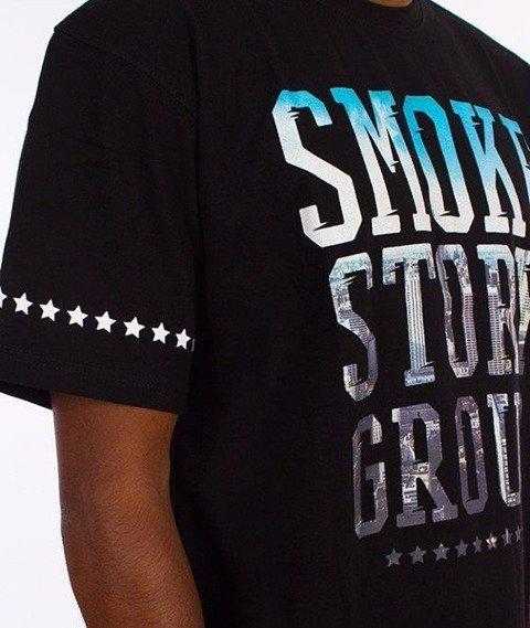 SmokeStory-Smoke Photo T-Shirt Biały