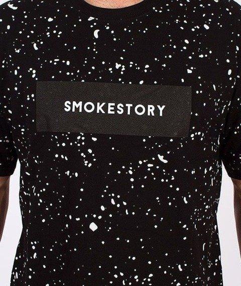 SmokeStory-Splash T-Shirt Czarny