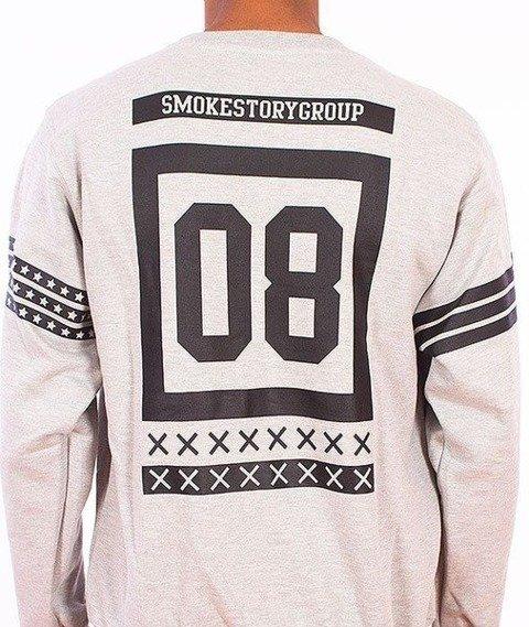 SmokeStory-Square Bluza Szara