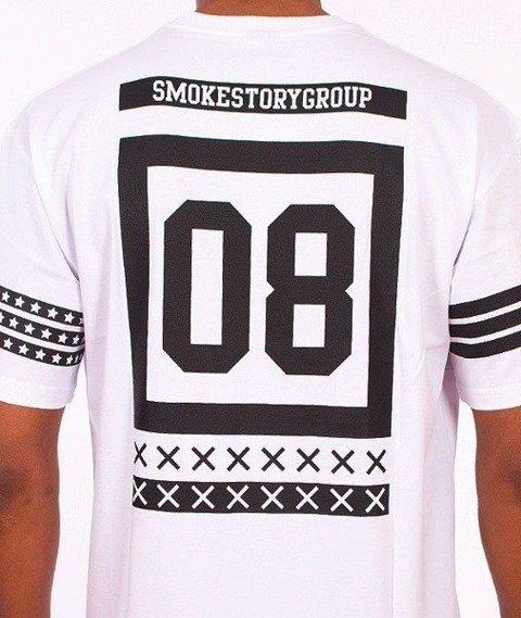 SmokeStory-Square T-Shirt Biały