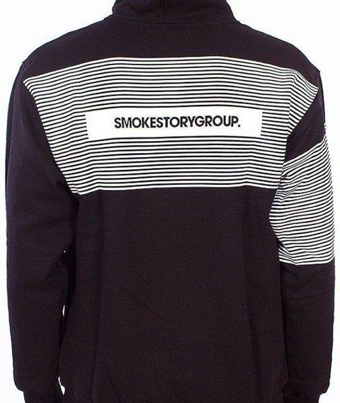 SmokeStory-Stripes Bluza Kaptur Czarny