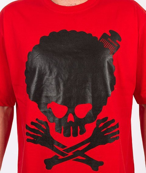 Stoprocent-Afro T-Shirt Red