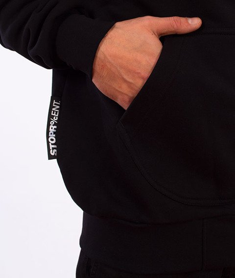 Stoprocent-BM Tag 17 Bluza z Kapturem Black