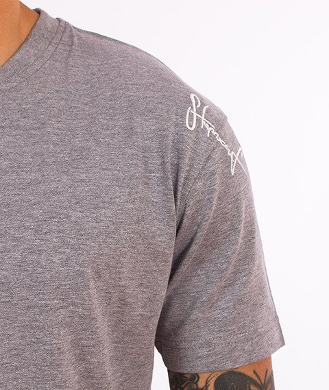 Stoprocent-Base T-Shirt Szary