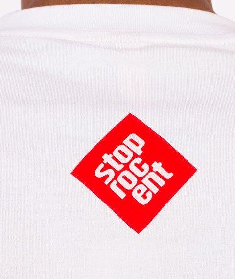 Stoprocent-Downhill 17 T-Shirt Biały