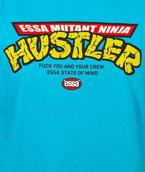 Stoprocent-Ninja T-Shirt Niebieski