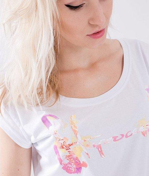 Stoprocent-Pastel T-Shirt Damski Biały