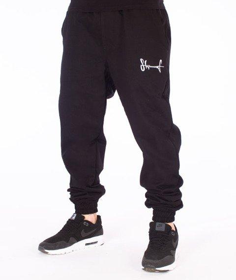 Stoprocent-SJ Jogger Spodnie Czarne