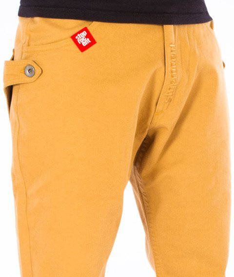 Stoprocent-SJ Traveler Canvas Jogger Spodnie Honey