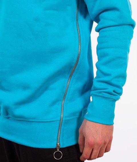 Stoprocent-Sideziptag Bluza Niebieska