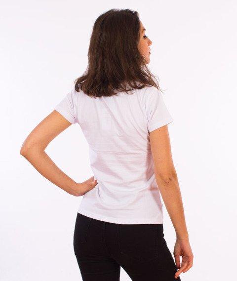 Stoprocent-TDS Stoprogirl17 T-Shirt Damski White