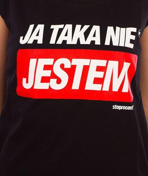 Stoprocent-Taka T-Shirt Damski Czarny
