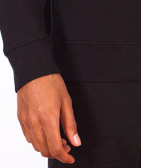 Stussy-Basic Logo Crewneck Black