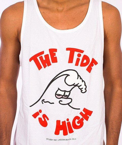 Stussy-High Tide Tank Top White