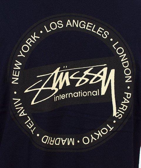 Stussy-International Dot T-Shirt Navy