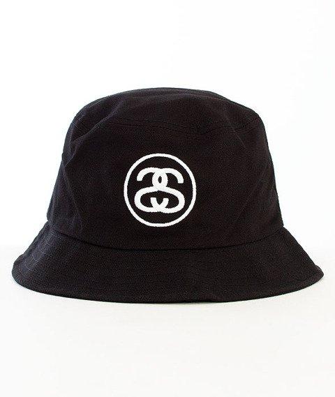 Stussy-Ss Link Bucket Hat Black