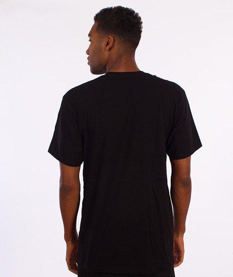 Stussy-Stranded T-Shirt Czarny