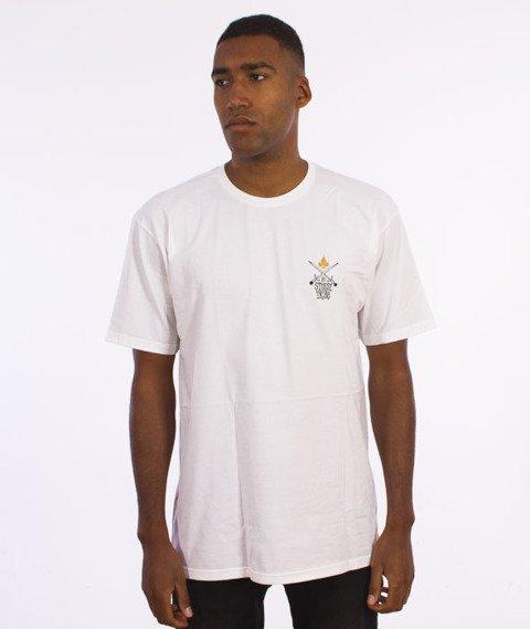 Stussy-Swords T-Shirt Biały