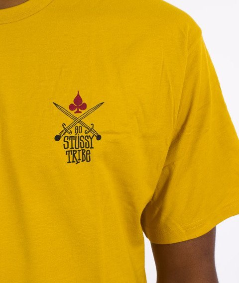 Stussy-Swords T-Shirt Musztardowy