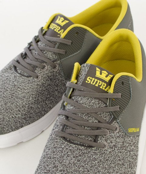 Supra-Noiz Grey Heather/Charcoal White [S56014]