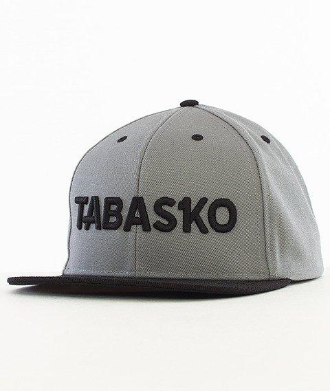 Tabasko-Script Snapback Szary/Czarny