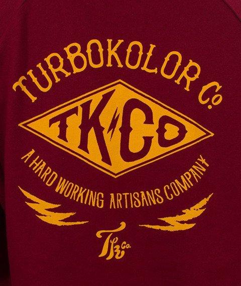 Turbokolor-Lightning Longsleeve Burgundy