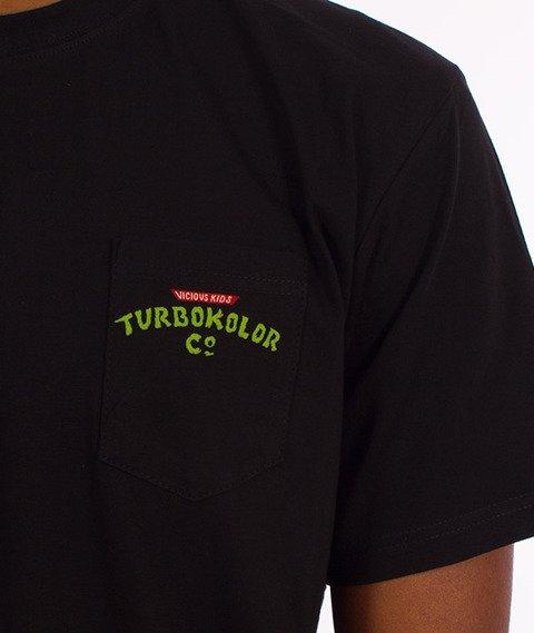 Turbokolor-Ninja Pocket T-Shirt Czarny
