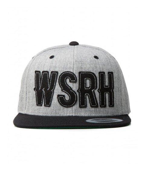 WSRH-Logo Snapback Szary