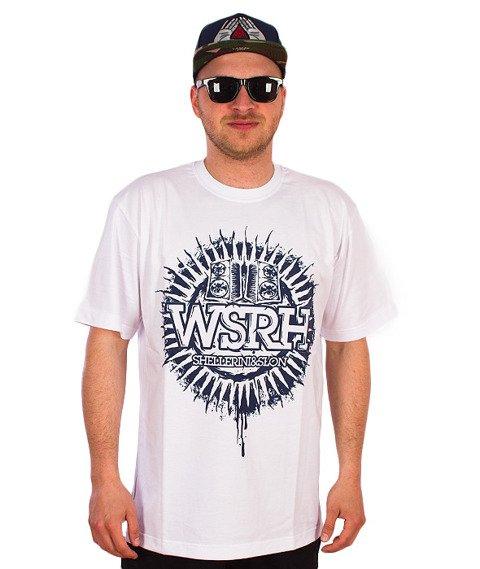 WSRH-Słońce T-Shirt Biały/Granatowy