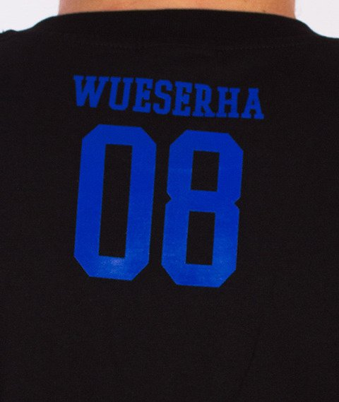 WSRH-Słońce T-Shirt Czarny/Niebieski