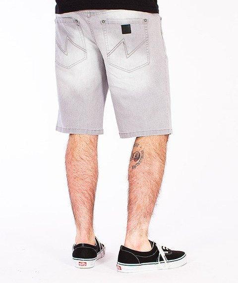 Wrung-Dash Lo Spodnie Krótkie Szare