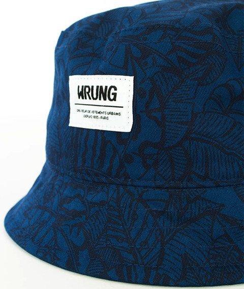 Wrung-Safari Bucket Hat Niebieski