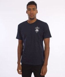 Carhartt WIP-Artillery T-Shirt Grey Navy/White