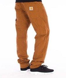 Carhartt WIP-Fort Pants Spodnie Brown Stone Washed