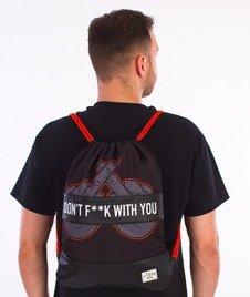 Cayler & Sons-Don't Fuck Gym Bag Black/Orange/Grey
