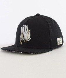 Cayler & Sons-Pray For Classic Cap Snapback Black/White