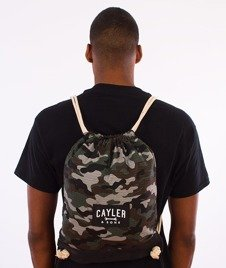 Cayler & Sons-Tolin' Gym Bag Forest Woodland/Black/White
