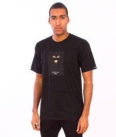 Crooks & Castles-Crookstape T-Shirt Black