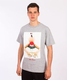 DGK-Face Down T-Shirt Szary