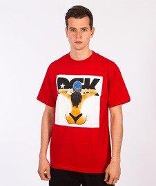 DGK-Nice View T-Shirt Czerwony