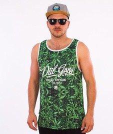 DIIL-Weed Tank Top Zielony