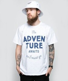 Diamante-Adventure Awaits T-Shirt Biały