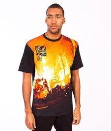 El Polako-Ogień T-Shirt Czarny/Multikolor