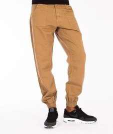 El Polako-Regular Jogger Jeans Miodowe/Musztardowe