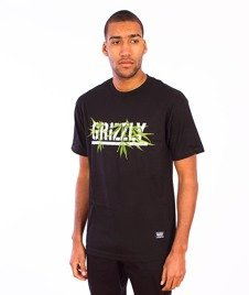 Grizzly-Seed Stamp T-Shirt Black