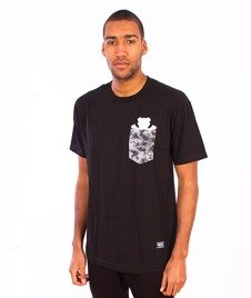 Grizzly-Shatter OG Bear Pocket T-Shirt Black