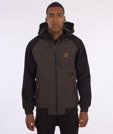 Iriedaliy-Fusion College Jacket Kurtka D Brown