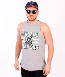 Majestic-Oakland Raiders Tank-Top Grey