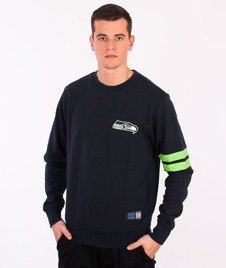 Majestic-Seattle Seahawks Crewneck Navy