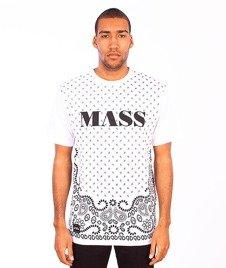 Mass-Bandana T-Shirt Biały